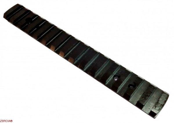 ZBROIA. Планка для Browning BAR, Benelli Argo. Профиль Weaver (сталь)
