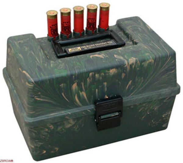 Коробка MTM Shotshell Case на 100 патронов кал. 12/76