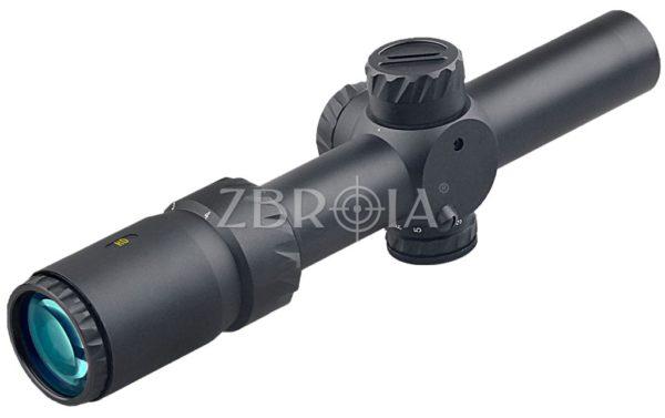 Прицел Discovery Optics HD 1-4X24 IR-MOA SFP (30 мм, подсветка)